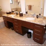 ensuite vanity with gold bahia granite1