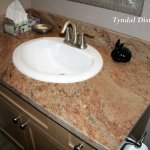 vanity top with vyara gold
