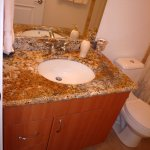 vanity with gold bahia granite-1