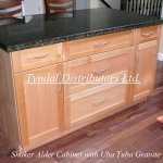 shaker alder with granite-1